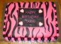 Zebra Stripe Cake