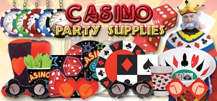 Casino Themed Party Supplies