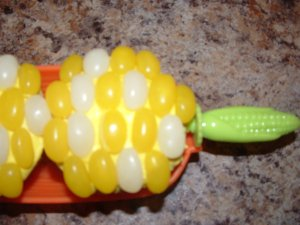 Corn On The Cob Cupcake