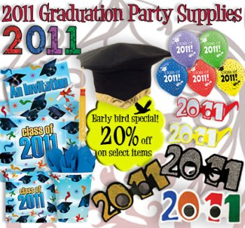 2011 Graduation Party Supplies