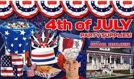 July 4th Party Supplies