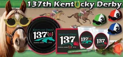 Officially licensed 137th Kentucky Derby Supplies