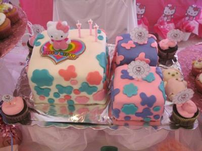 Custom hello kitty cakes