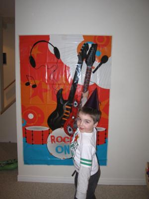 My little Rock Star!