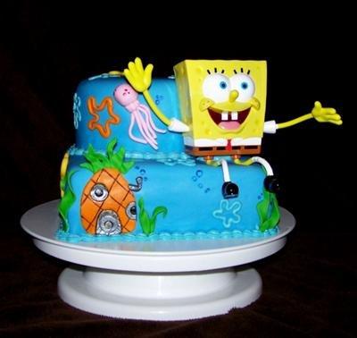 Spongebob Birthday Cake Design : SpongeBob Cake Pictures - SpongeBob Birthday Cake