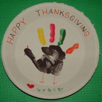 Hand painted Turkey Craft