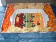 Football Party Dip Idea