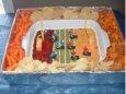 Football Party Dip Idea