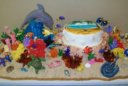 Tropical Reef Cake
