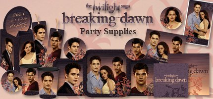 Twilight Breaking Dawn Party Supplies