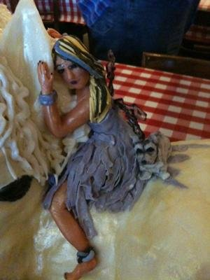 Close up of Fairy on Cake
