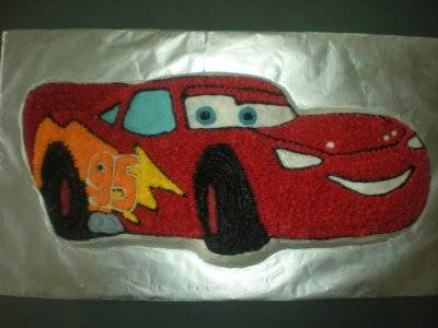 Cars Cake Pictures Lightning McQueen Birthday Cake Perfect Party
