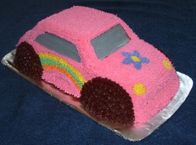 Hippie Car Cake