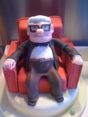 Up Cake Featuring Mr. Fredrikson